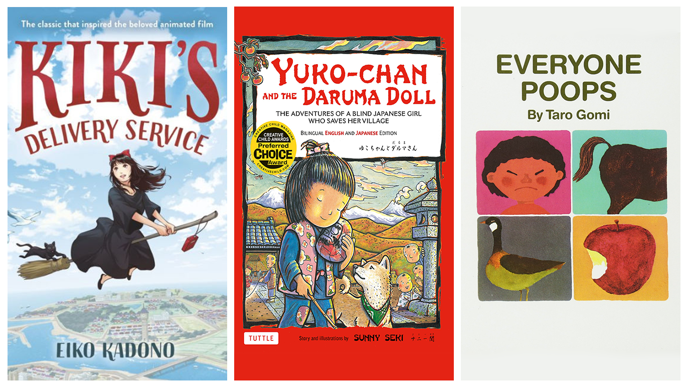 Our favourite Japanese children's books in English