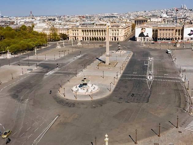Cette délirante vidéo en drone montre Paris vidé de ses habitants