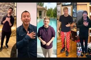 Concierto de Backstreet Boys desde sus casas