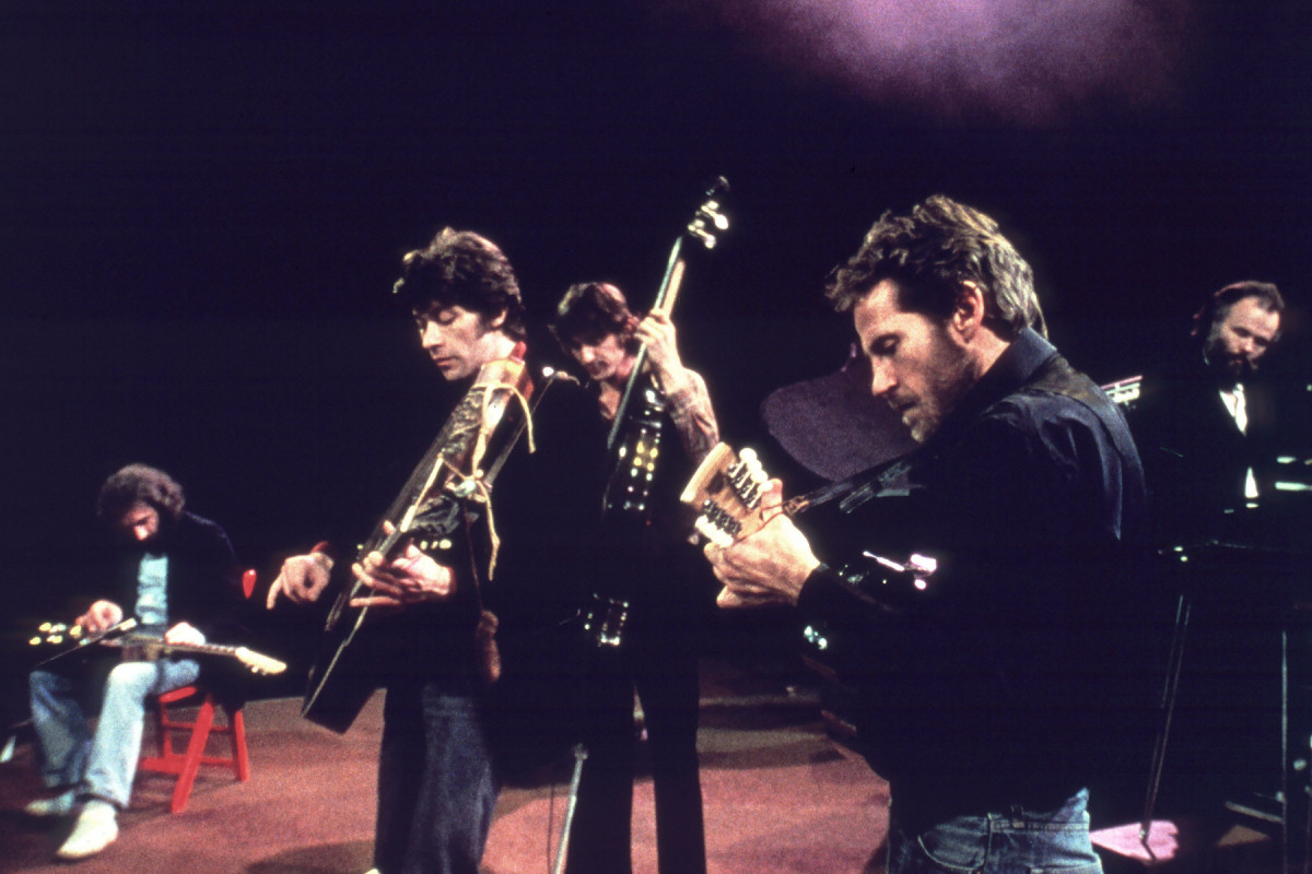 'The Last Waltz', The Band