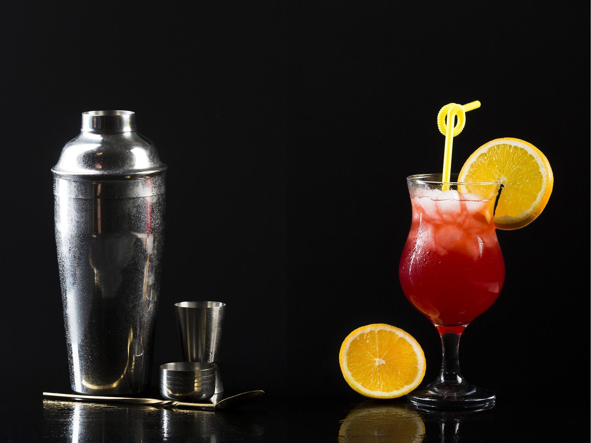 Noite, Bebidas, Cocktail & Shaker