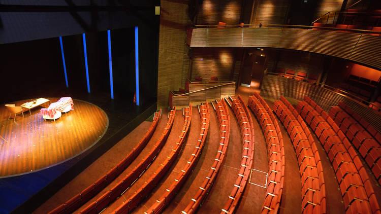 Helen Maybanks The Hampstead Theatre auditorium