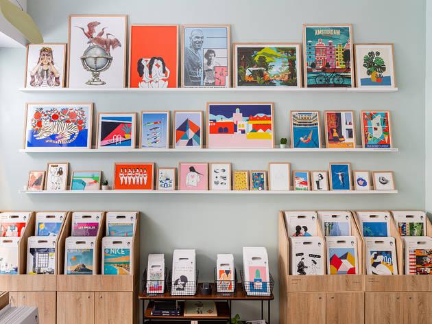 La galerie d'art Sergeant Paper vend des affiches pour aider les soignants