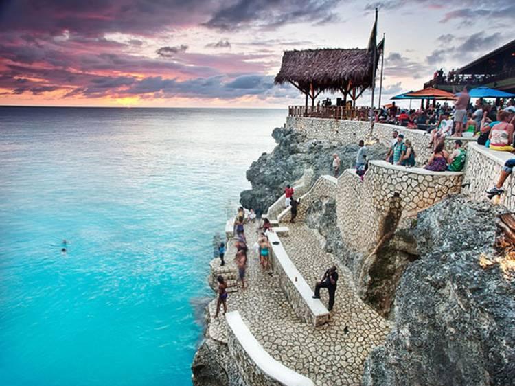 Ver o pôr-do-sol na Jamaica