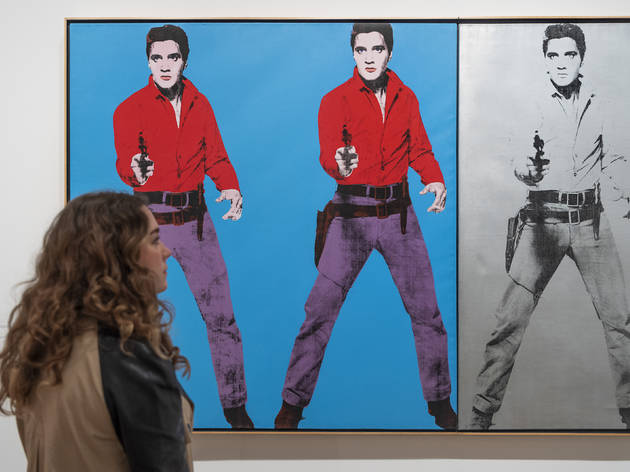 Andy Warhol Exhibition, Tate Modern, 2020