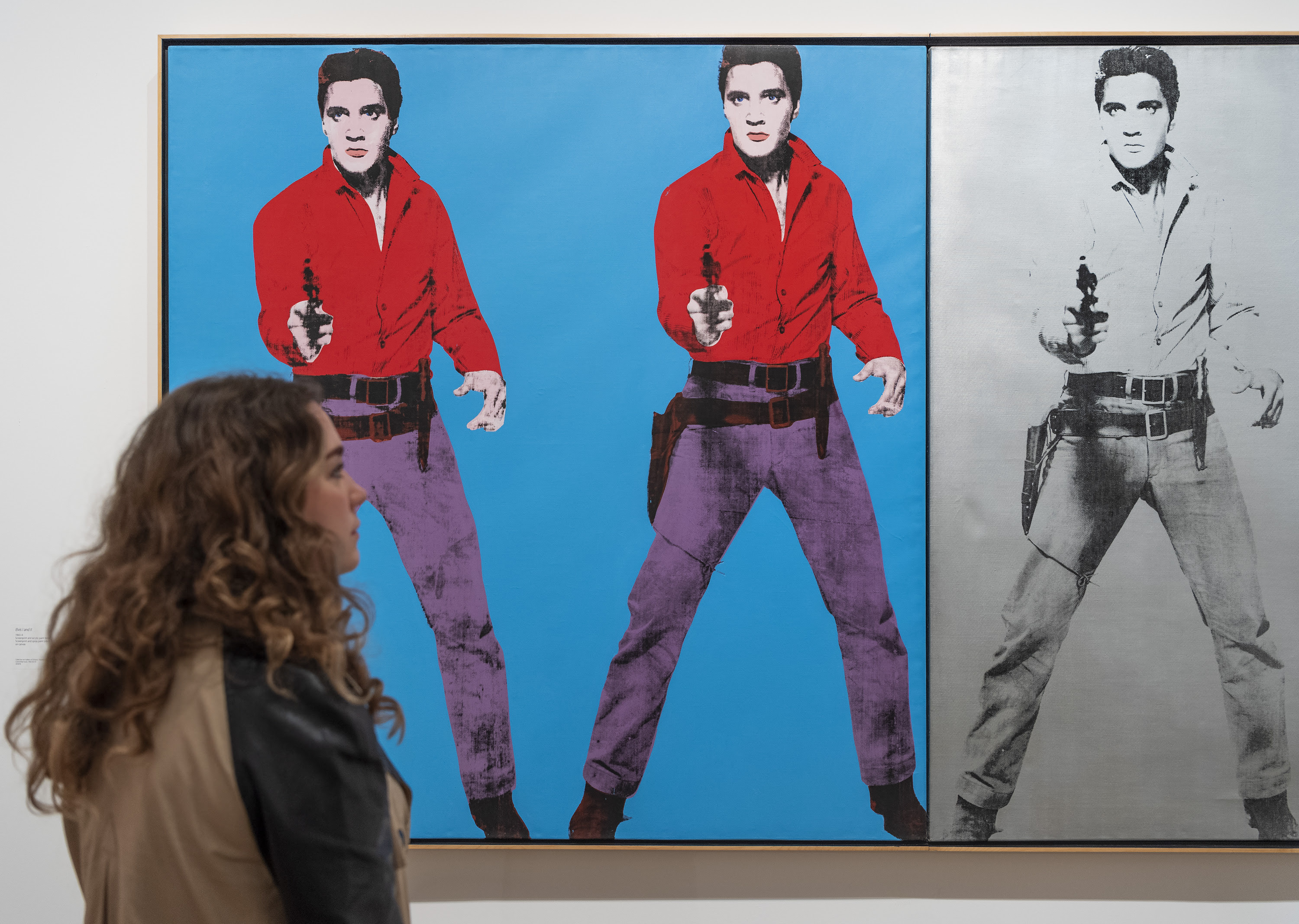 See the Andy Warhol Tate Modern exhibition via virtual tour