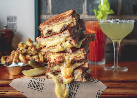 Live Grilled Cheese Toasties From Morty & Bob's