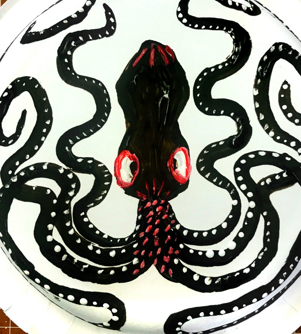 Minoan octopus