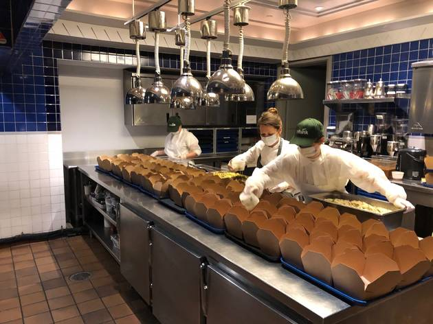 Eleven Madison Park and Rethink Food NYC open a commissary to serve frontline workers