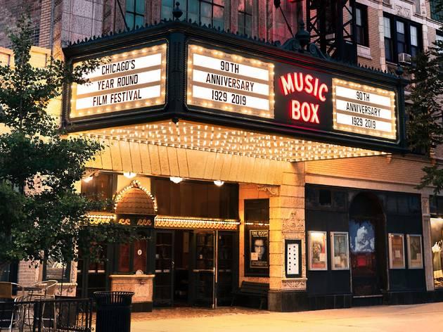 Music Box Theatre marquee