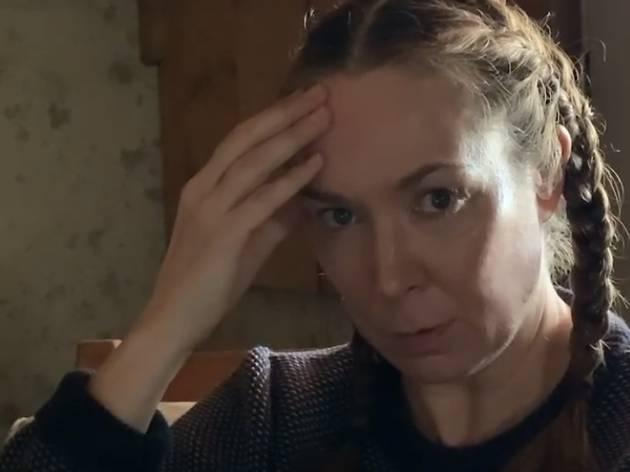 """Elizabeth Marvel in """"Elizabeth in the Barn"""""""