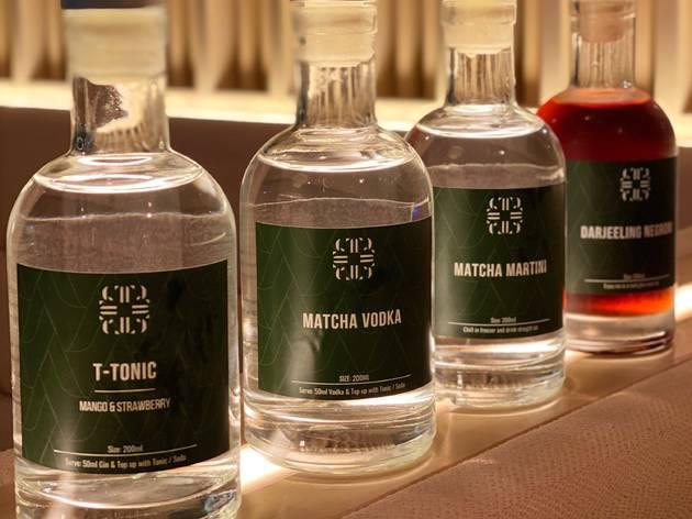 Tell Camellia Bottled cocktails