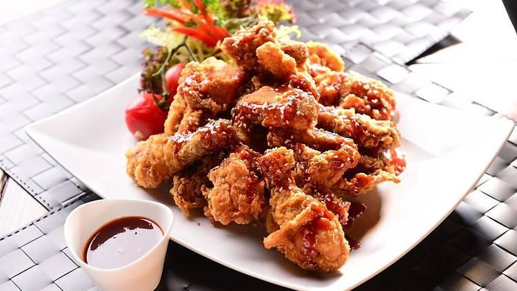 uncle padak fried chicken korean