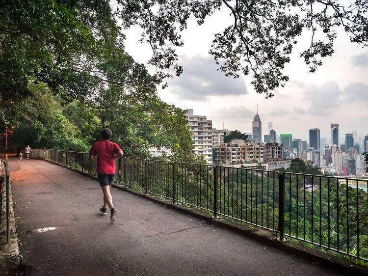 Where to jog or run in Hong Kong