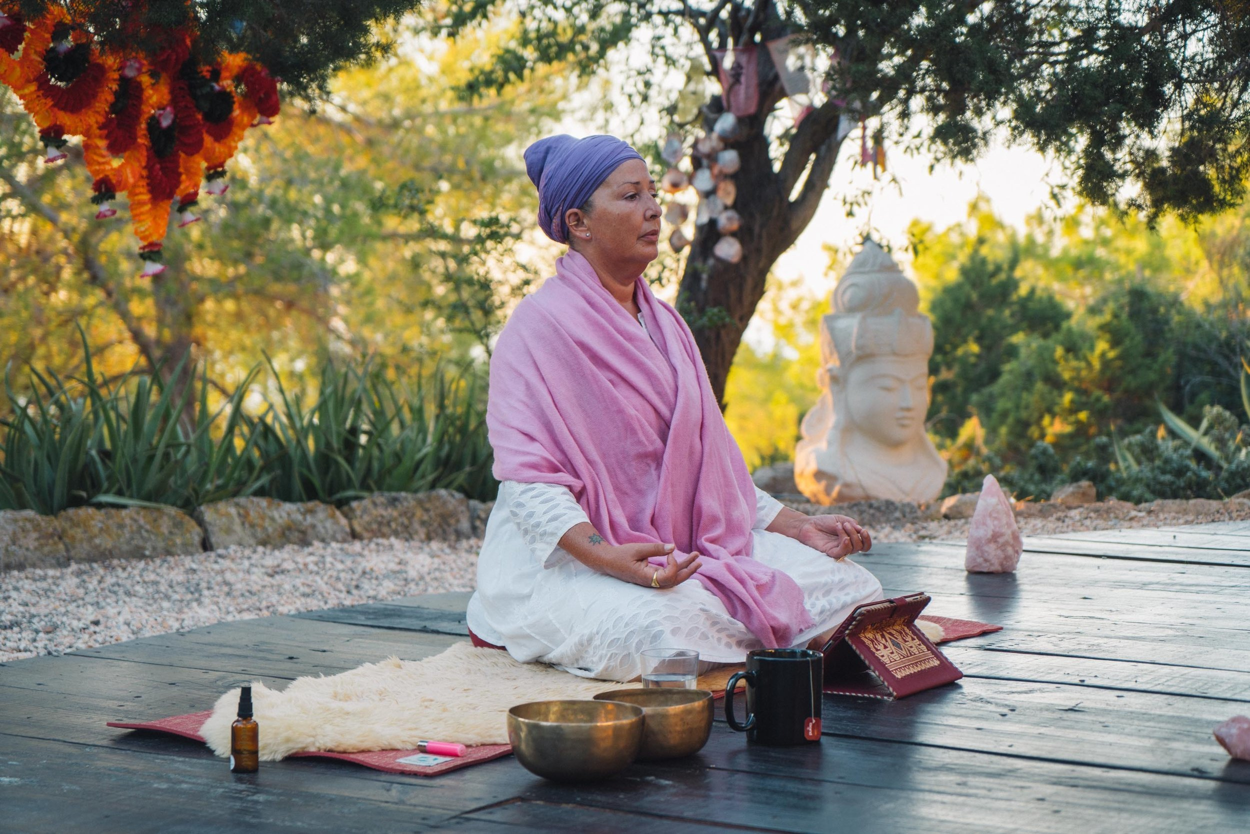 You can now go on a virtual 40-day Ibiza yoga retreat