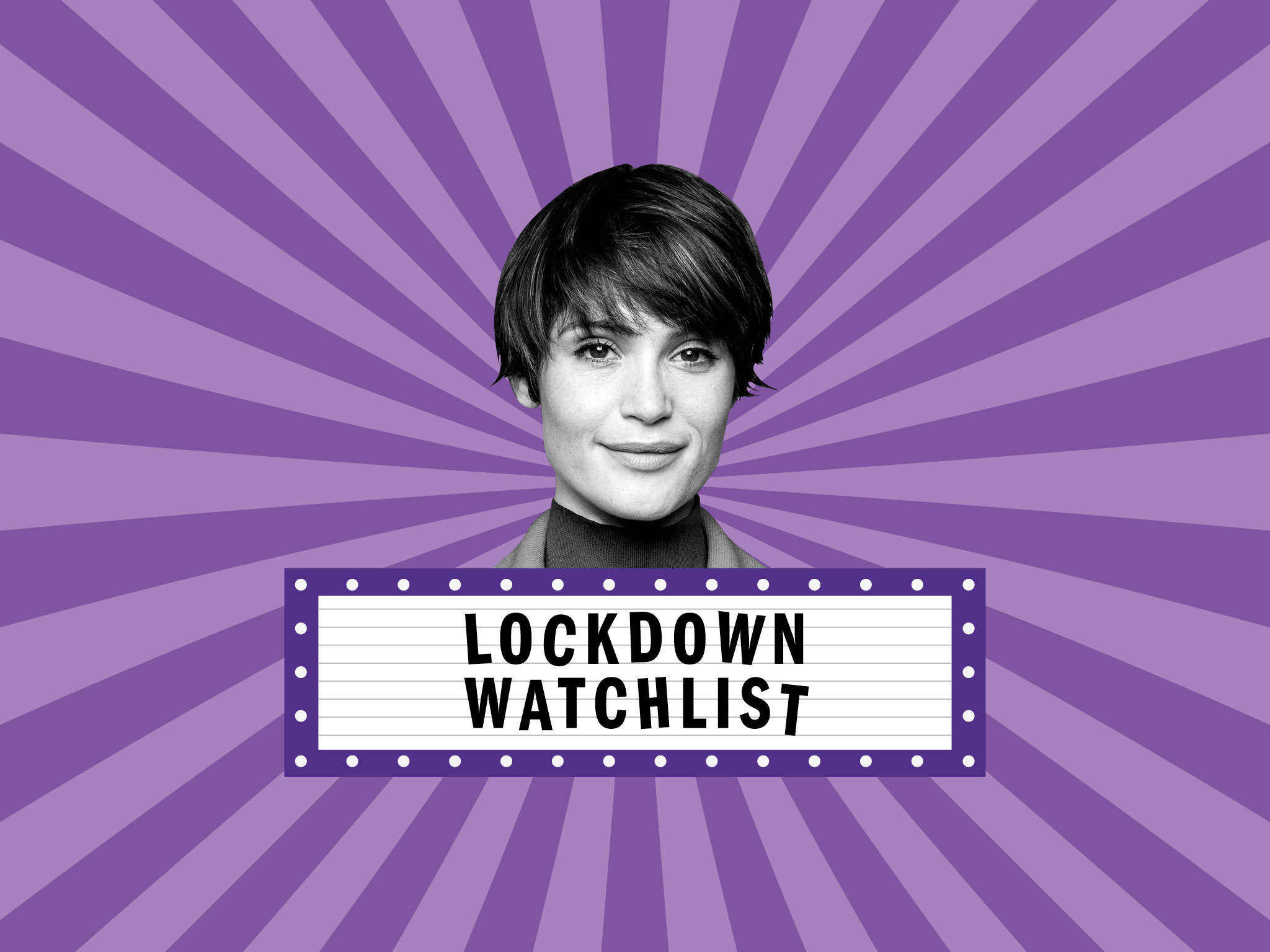 What is Gemma Arterton watching in lockdown?