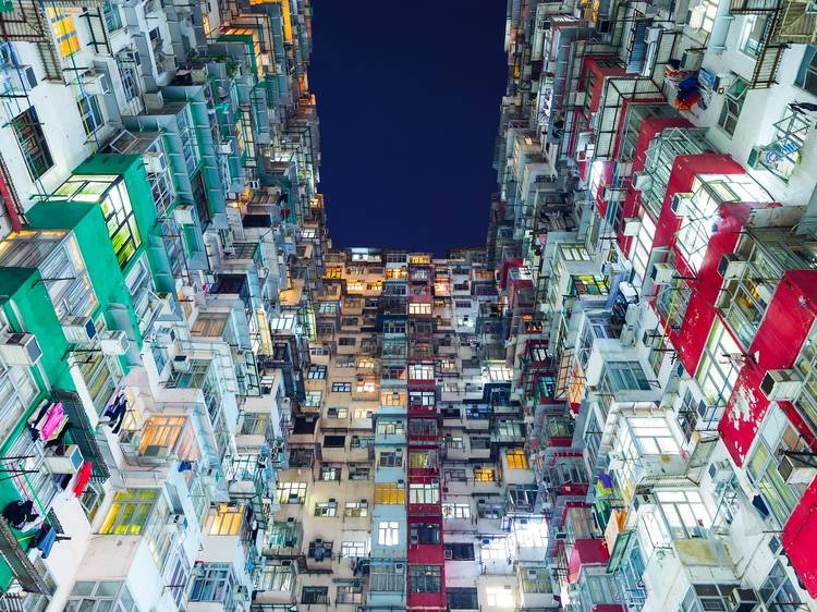 Everyone in Hong Kong lives in a tiny apartment