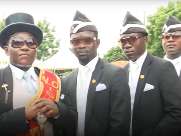 Enterradores ghaneses
