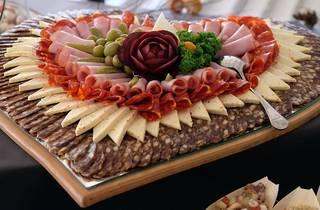 croatian plate, starter, cheese, meat, prsut