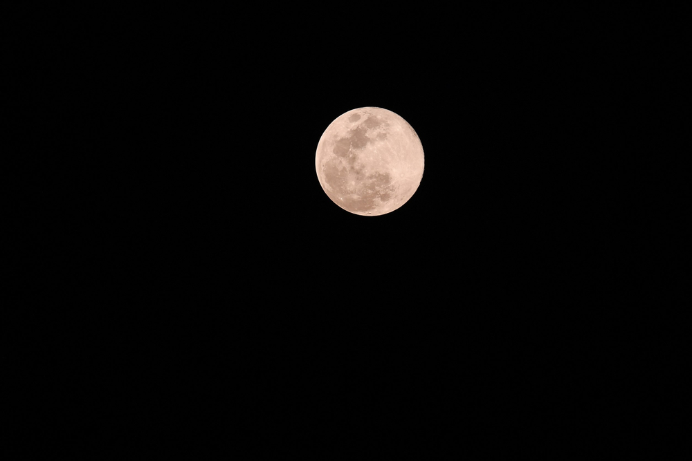A super 'pink moon' will be visible in the sky this week