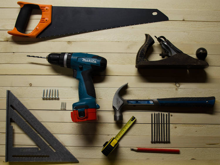 Do that DIY project you've been putting off