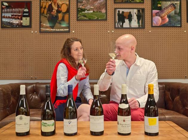 The Fine Wine Experience's live virtual wine tasting I photo from website