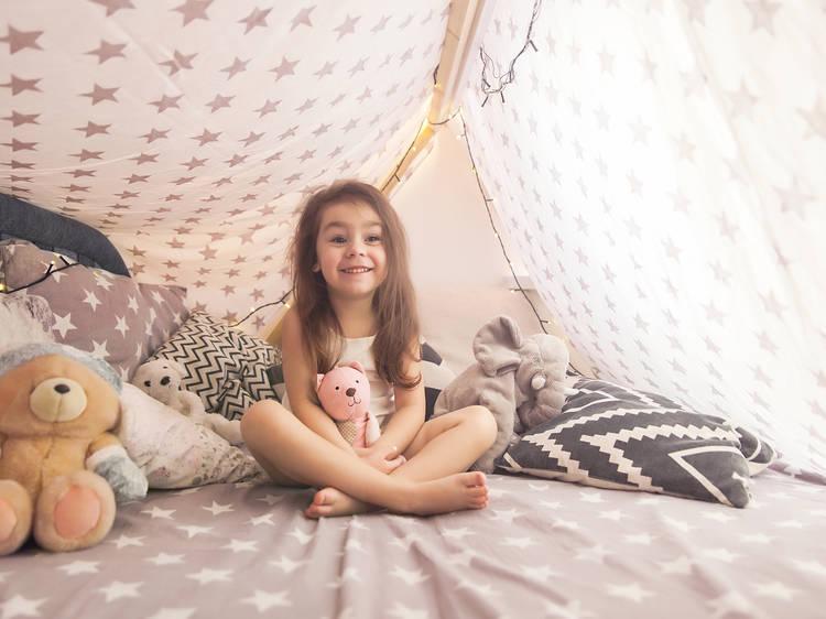 Campamento en casa