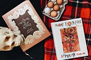 cookbooks, recipes, cook books, appetite, a treasury of great recipes, anthony bourdain, mary and vincent price, stephanie breijo
