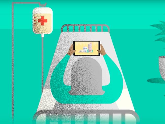 Donació de tauletes i mòbils per evitar l'aïllament dels hospitalitzats