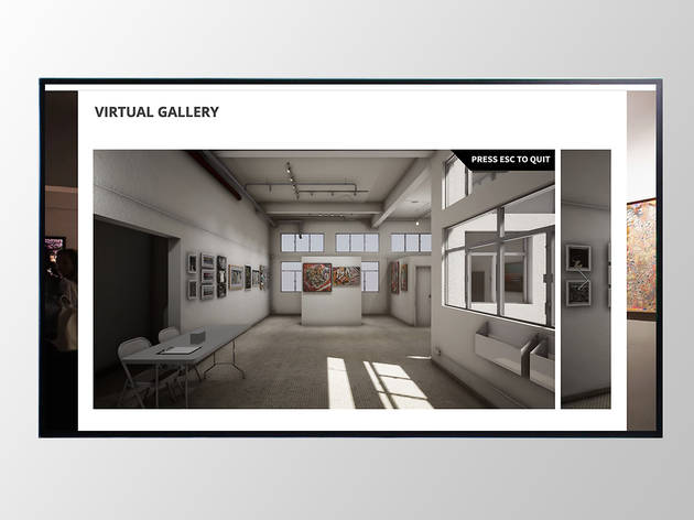Hong Kong Arts Collective virtual gallery