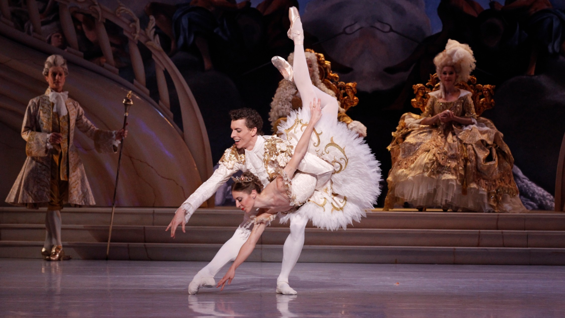 Kevin Jackson and Lana Jones in Aus Ballet's Sleeping Beauty