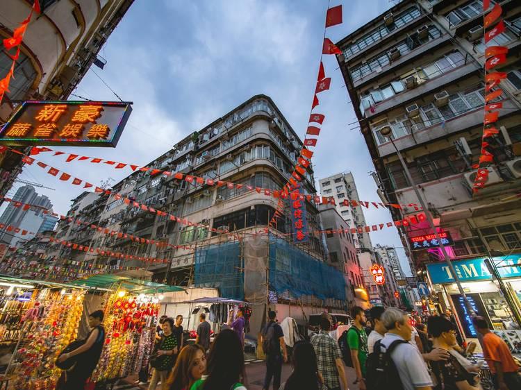 Top ten Hong Kong markets