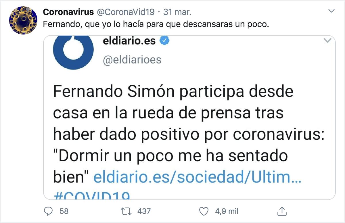 CoronaVid19 Twitter