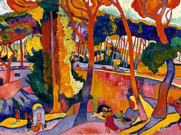 André Derain, L'Estaque, route tournante, 1906
