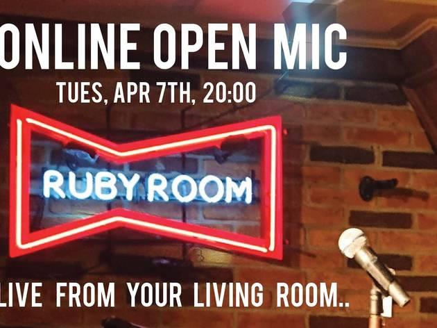 Ruby Room online open mic