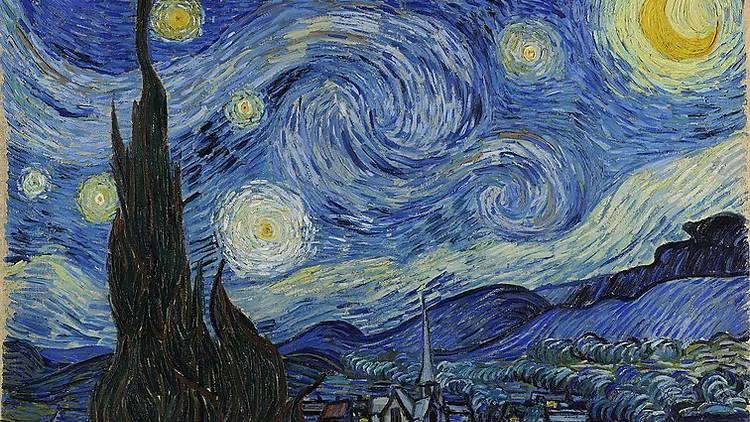 'Noite Estrelada' (1889), Vincent van Gogh