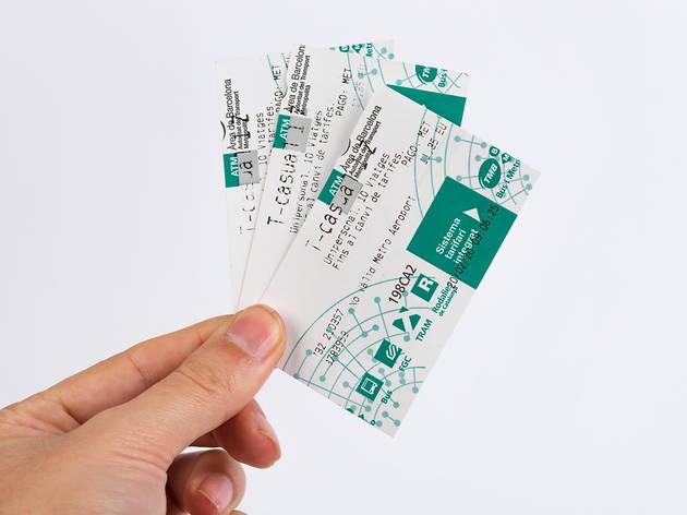 TMB metro cards