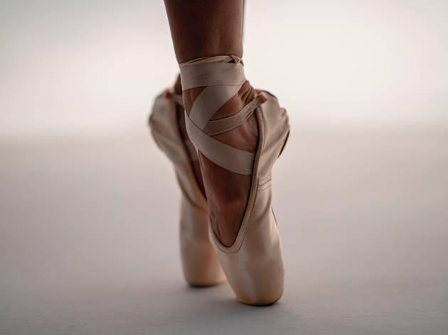 Ballet, bailarina, sapatos, dança