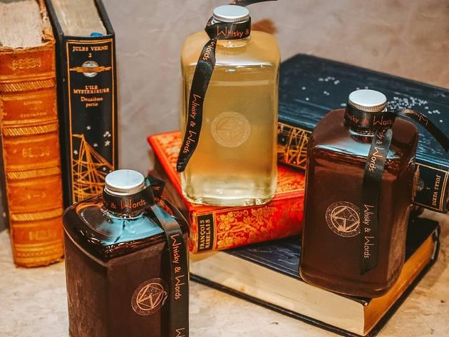 Whisky & Words bottled cocktails