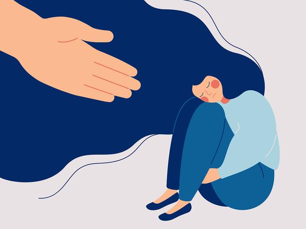Atenció mèdica contra l'angoixa i la depressió