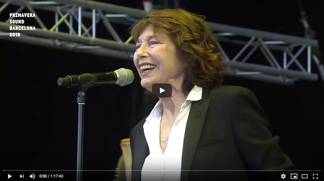 Jane Birkin, Primavera Sound 2018
