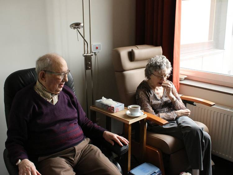 Ajude os lares de idosos