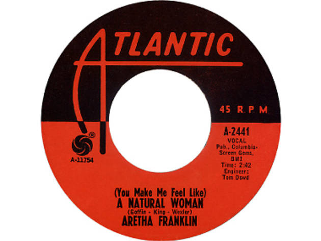 Areatha Franklin album cover