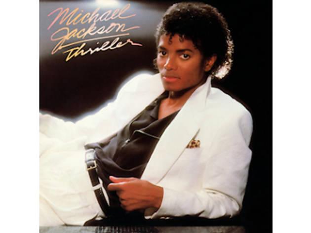 MIchael Jackson album cover