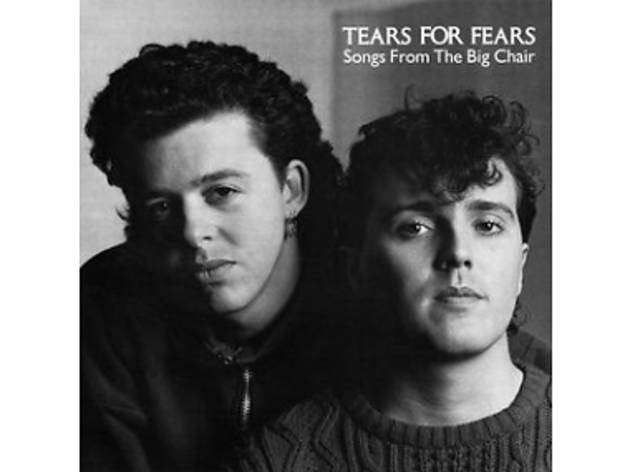 Tears For Fears Songs from the Big Chair album cover