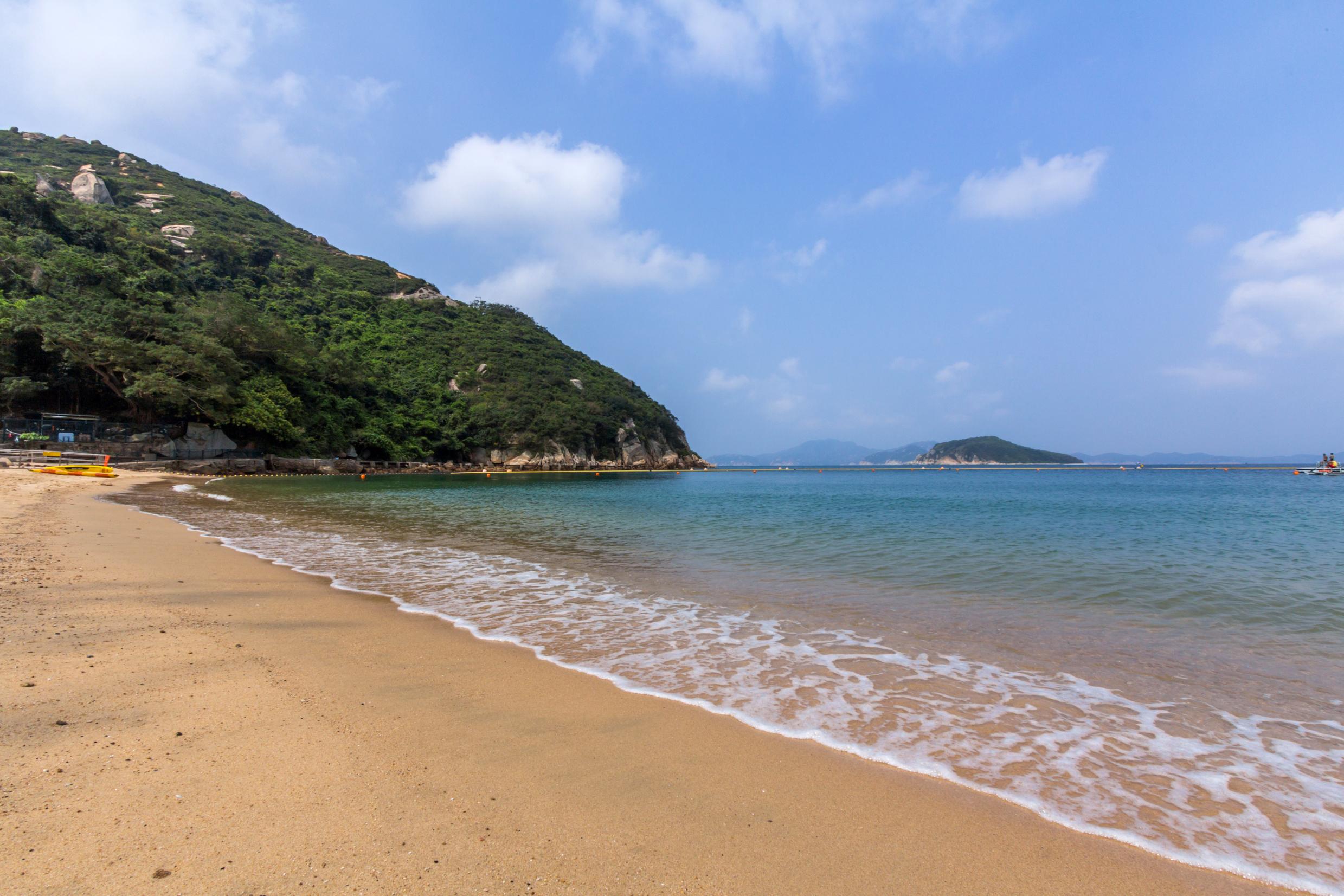 chung hom kok beach hong kong