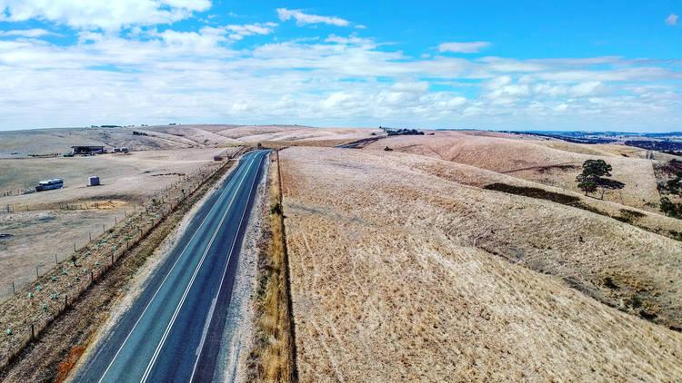 Rural Australian road