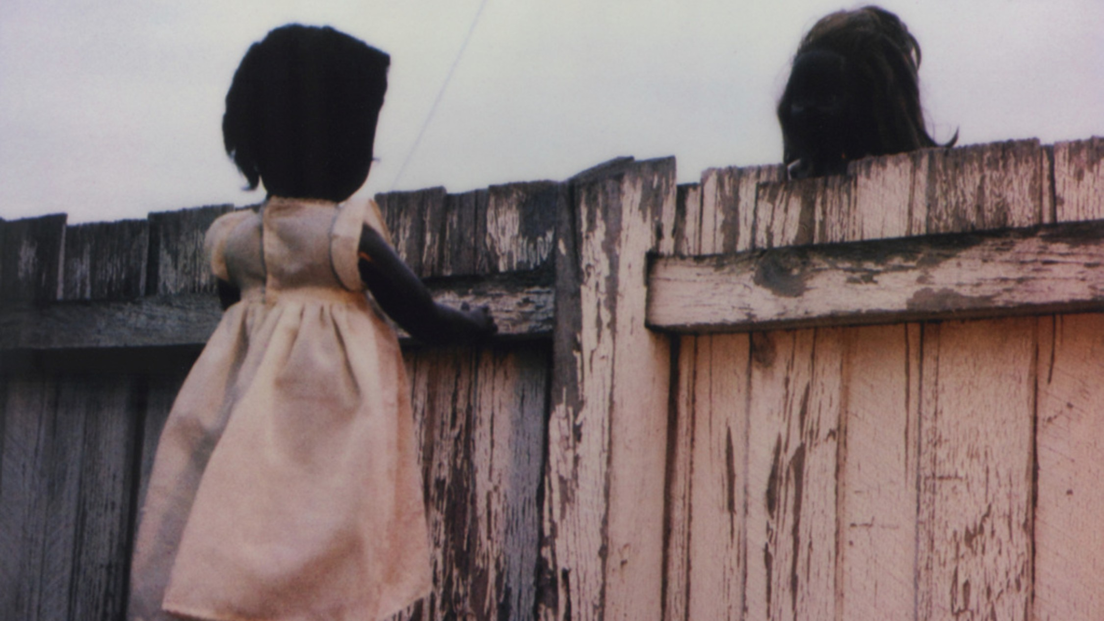 Destiny Deacon, Over the Fence, from the series Sad & Bad