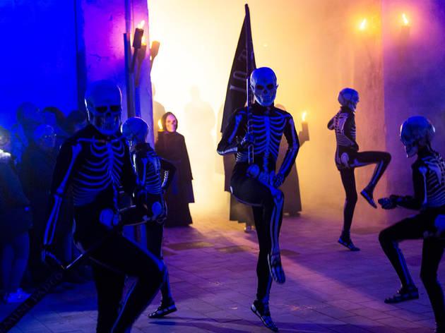 La dansa de la mort, Verges.