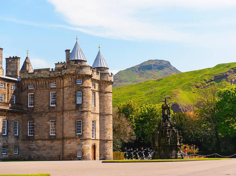 Holyroodhouse Palace, Scotland